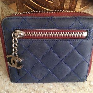 Authentic Chanel Lambskin Wallet